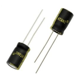 Electrolytic Radial E 330uF/16V 8x12 RM3.5 105°C low ESR Hitano EXR331M16B