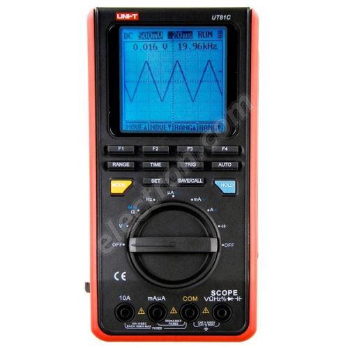Handheld digital oscilloscope 16MHz UNIT-T UT81C