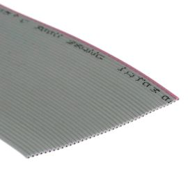 Flat ribbon cable AWG28 40 pin Grey Color