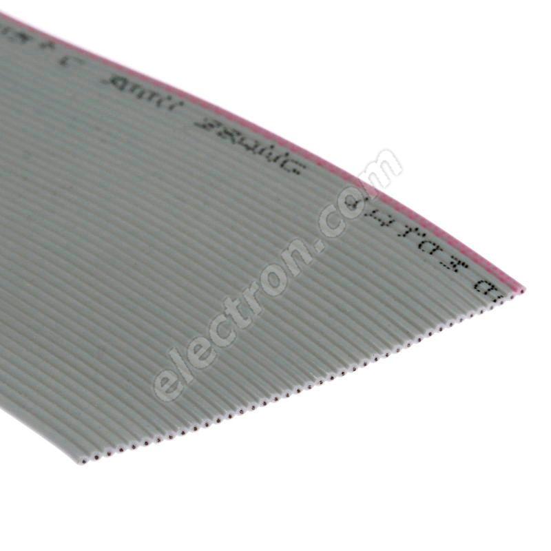 Flat ribbon cable AWG28 40 pin Grey Color