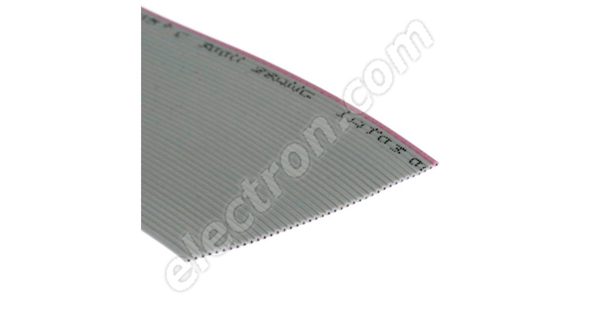 PC IDC GREY FLAT RIBBON CABLE  AWG28  1mm PITCH   44 WAY  1,5 or 10 metres  H398