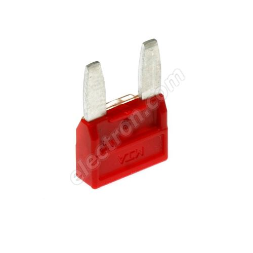 Car Fuse 10A/32V red MTA MINIVAL 10A