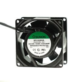 AC Fan 80x80x38mm 230V AC/90mA 32dB SUNON SF23080A-2083HBL.GN