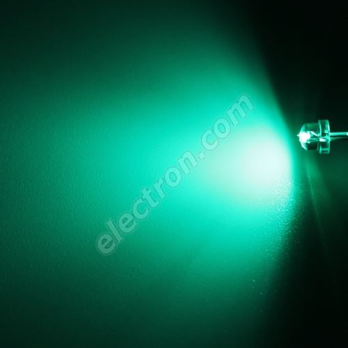 LED 4.8mm Green Color 390mcd/170° Water Clear Lens Hebei 412PG0C