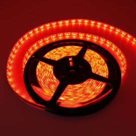 Waterproof LED Strip 3528 Red - STRF 3528-60-R-IP65 - 1 meter length