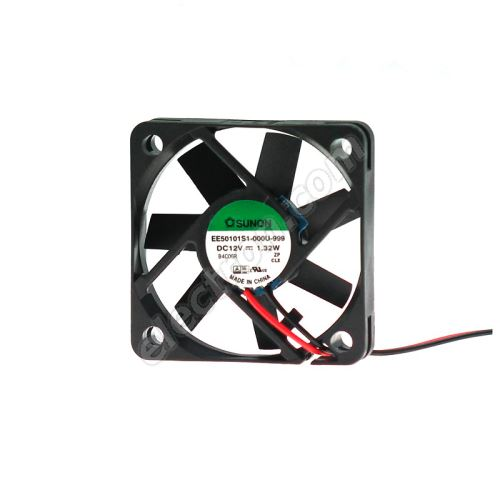 DC Fan 50x50x10mm 12V DC/110mA 29dB SUNON EE50101S1-000U-999