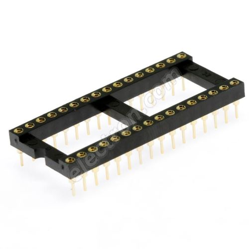 Precision IC DIP Socket Xinya 126-6-32RG