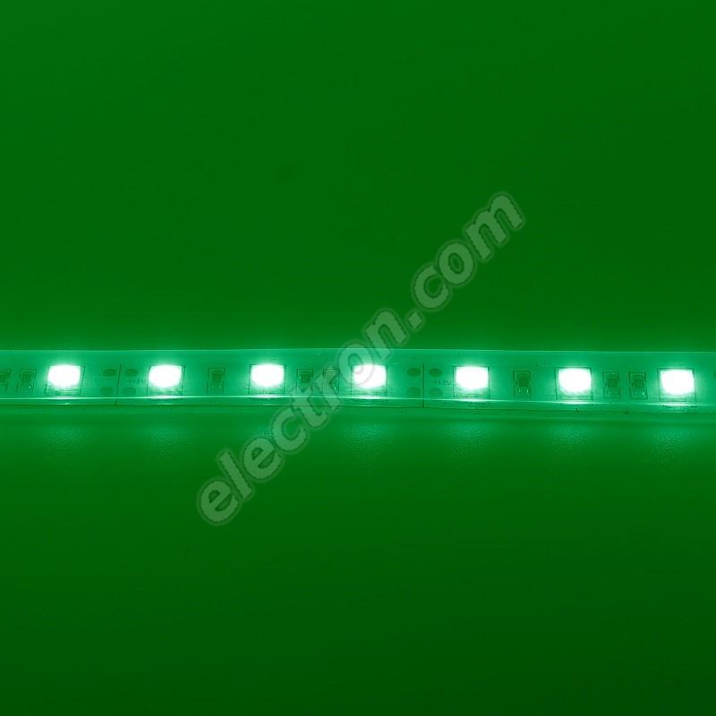 Waterproof LED Strip 5050 Green - STRF 5050-60-G-IP66