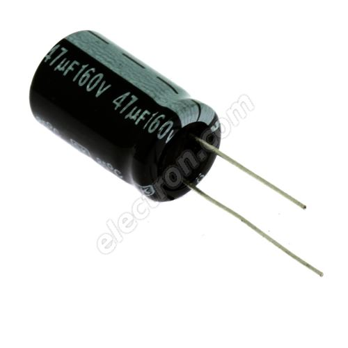 Electrolytic Radial E 47uF/160V 13x21 RM5 85°C Jamicon SKR470M2CJ21M
