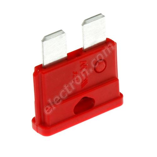 Car Fuse 10A/32V red MTA UNIVAL 10A