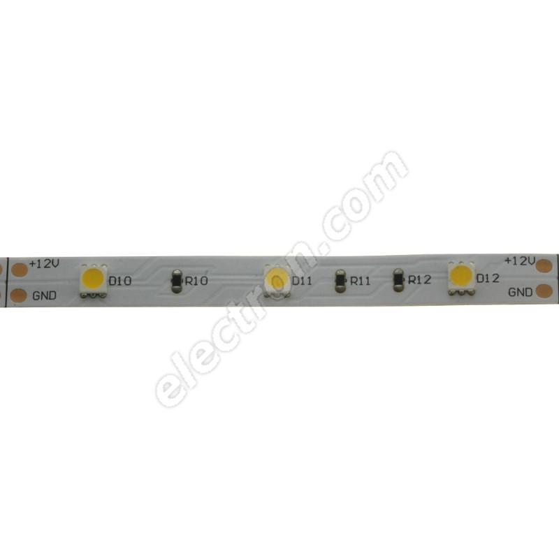 Non-Waterproof LED Strip 5050 Warm White - STRF5-5050-W3-12V - 1 meter length