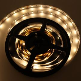 Non-Waterproof LED Strip 5050 Warm White - STRF5-5050-W3-12V - 1 meter length
