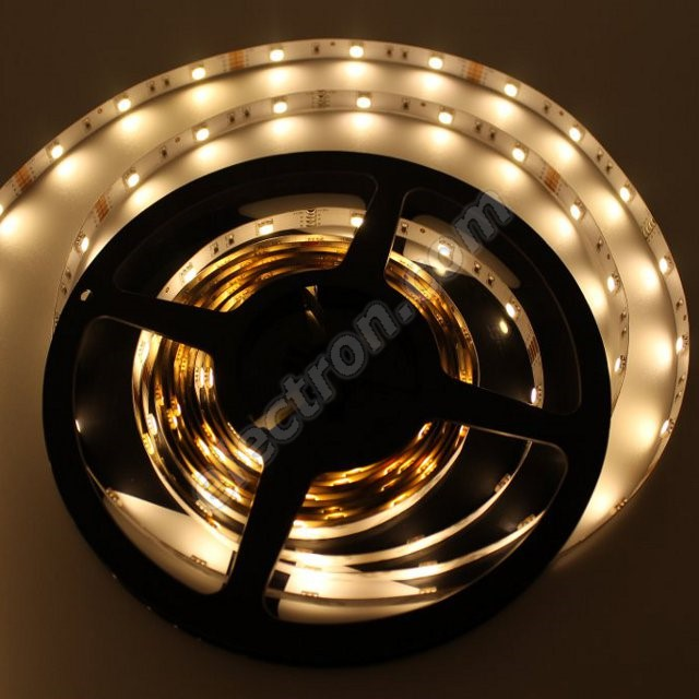 Non-Waterproof LED Strip 5050 Warm White - STRF 5050-60-WW - 1 meter length
