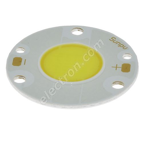 LED 4W COB Cool White Color 600lm/120° Hebei 4VAC13W6