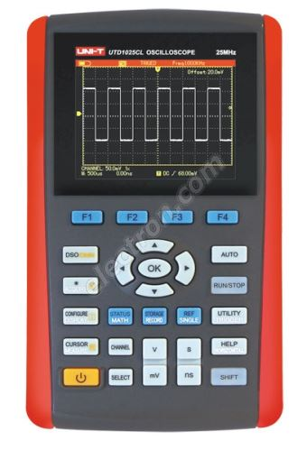 Handheld digital oscilloscope 25MHz UNI-T UTD1025CL