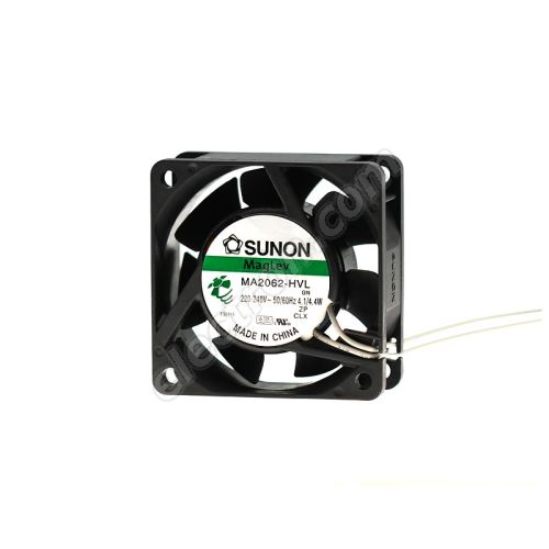 AC Fan 60x60x25mm 230V AC/198mA 30dB SUNON MA2062-HVL