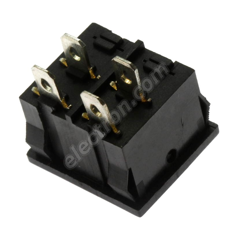 Rocker Switch Jietong MRS-201-4C3 B/B