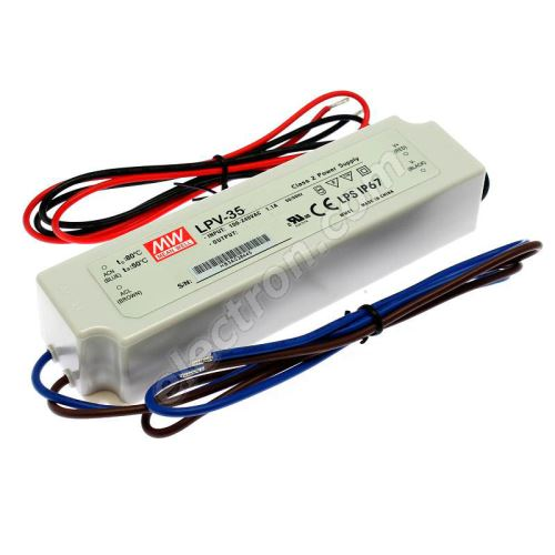 24V DC Power Supply Mean Well LPV-35-24