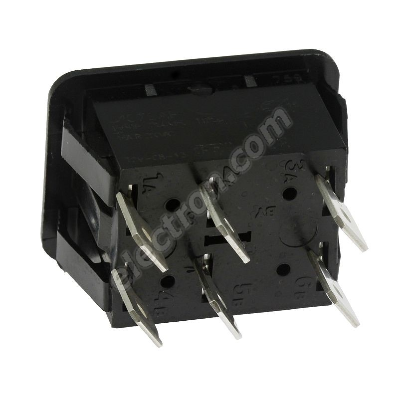 Rocker Switch Arcolectric C1572ABAAA