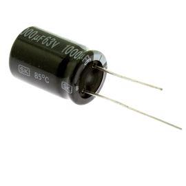 Electrolytic Radial E 1000uF/63V 16x25 RM7.5 85°C Jamicon SKR102M1JK25M