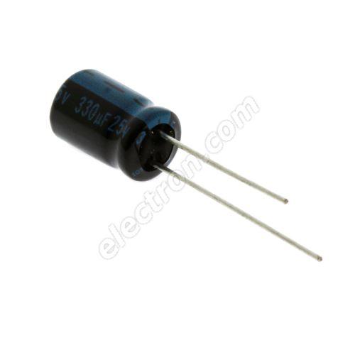 Electrolytic Radial E 330uF/25V 8x11.5 RM3.5 105°C Jamicon TKR331M1EFBBM