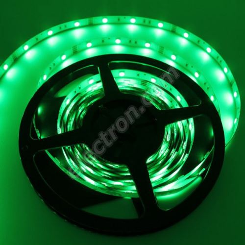 Non-Waterproof LED Strip 5050 Green - STRF 5050-30-G - 1 meter length
