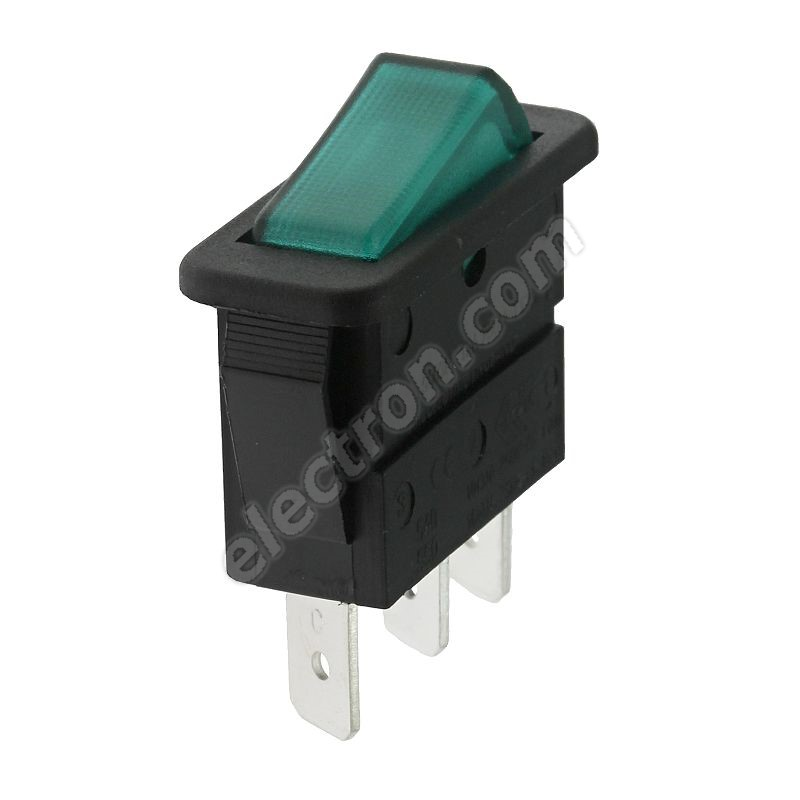 Rocker Switch Arcolectric C5503ABNAC