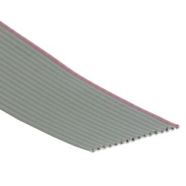 Flat ribbon cable AWG28 16 pin Grey Color