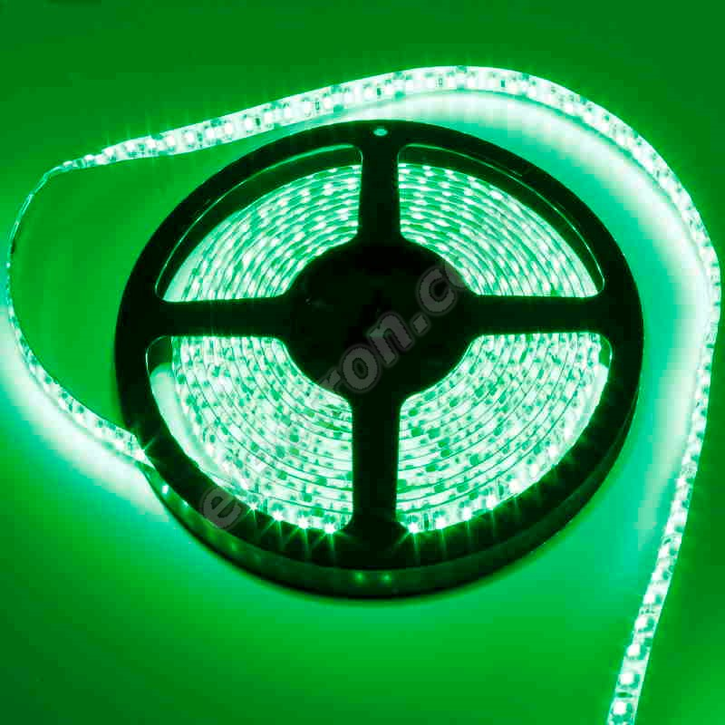 Waterproof LED Strip 3528 Green - STRF 3528-120-G-IP65 - 1 meter length