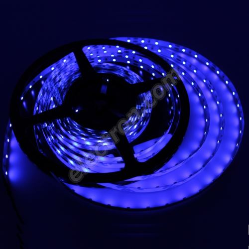 Non-Waterproof LED Strip 3528 Blue - STRF 3528-60-B - 1 meter length