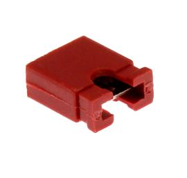 Red JUMPER opened RM2.54mm Xinya 116-B-G 2