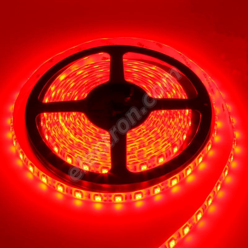 Non-Waterproof LED Strip 5050 Red - STRF5-5050-60-R - 1 meter length