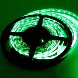 Non-Waterproof LED Strip 5050 Green - STRF 5050-60-G - 1 meter length