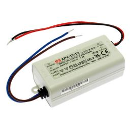 12V DC Power Supply Mean Well APV-12-12