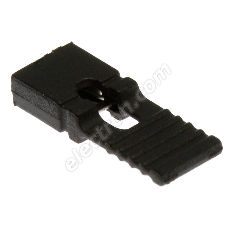Black JUMPER Long Type RM2.54mm Xinya 116-D-G 1