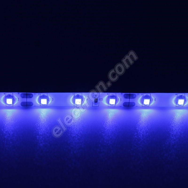 Waterproof LED Strip 3528 Blue - STRF 3528-60-B-IP65 - 1 meter length