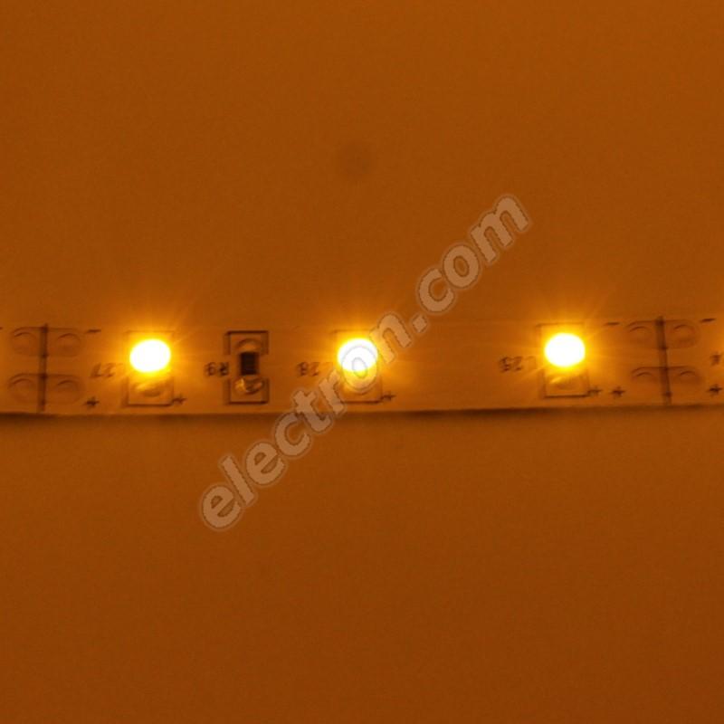 Non-Waterproof LED Strip 3528 Yellow - STRF 3528-60-Y - 1 meter length