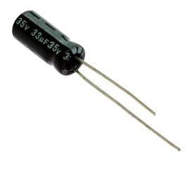 Electrolytic Radial E 33uF/35V 5x11 RM2 85°C Jamicon SKR330M1VD11M