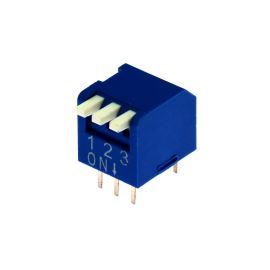 DIP switch Kaifeng KF1002-03PG-BLUE