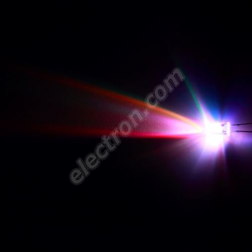 LED 5mm RGB Fast Color changing 1500mcd/15° Water Clear Lens Hebei 5XRGB-F2-F