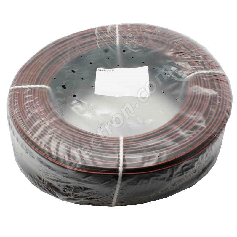 Unshielded Speaker Cable 2x0.15mm Black+Red CYH (SMYp, VM00VH-H) 50V