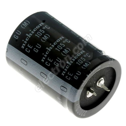 Electrolytic Capacitor Snap-in E 22000uF/25V 30x50 RM10 85°C Jamicon LPW223M1EP50M