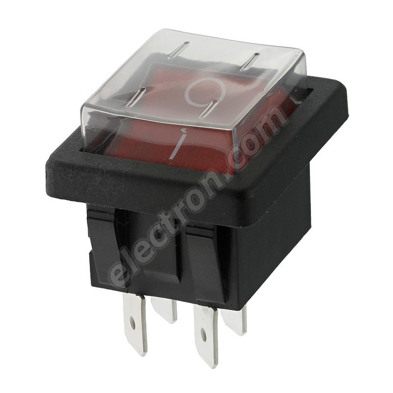 Rocker Switch Bulgin C1353ALGNF