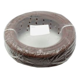 PVC Insulated Stranded Wire H05V-K 1x0.75mm Brown