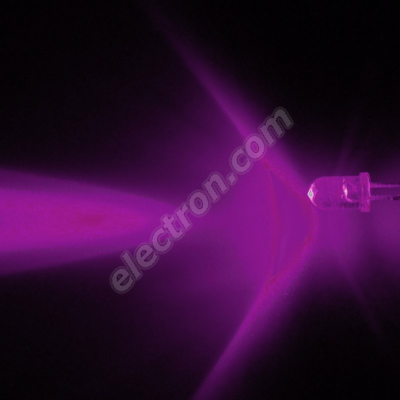 LED 5mm Infra red (IR) Color 80mW/sr/30° transparentní Hebei 530E850C