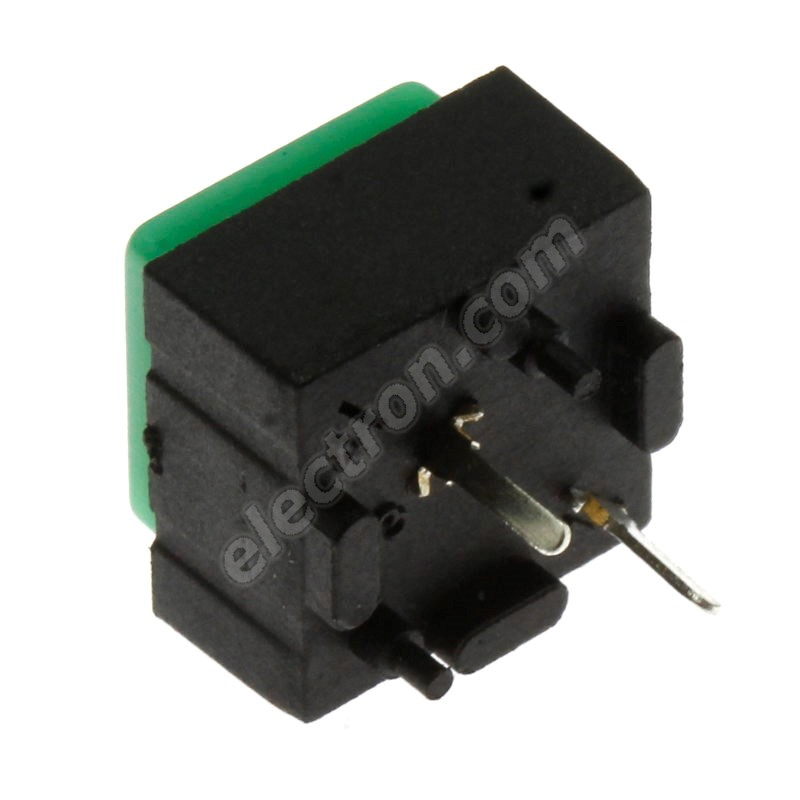 Pushbutton Switch Jietong PBS-18B GREEN