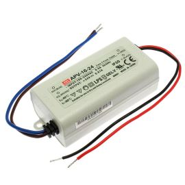 24V DC Power Supply Mean Well APV-16-24