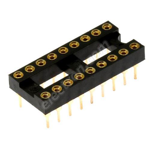 Precision IC DIP Socket Xinya 126-3-18RG