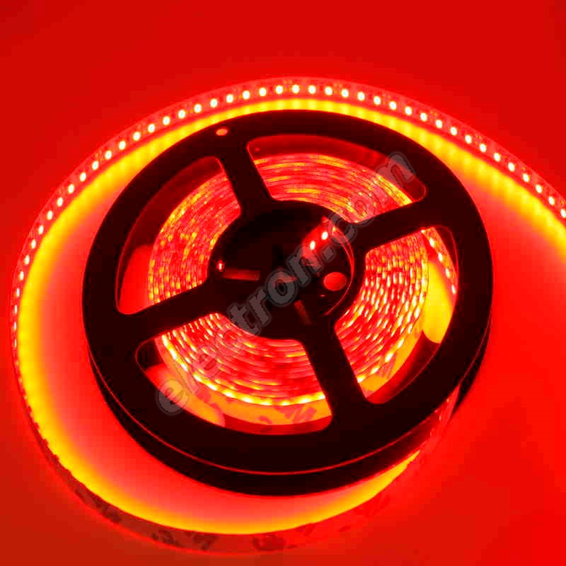 Non-Waterproof LED Strip 3528 Red - STRF 3528-120-R - 1 meter length