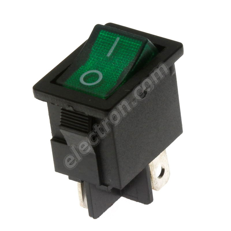 Rocker Switch Jietong MIRS-101-C3-G/B